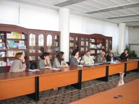 круглый стол памяти Кондыбая